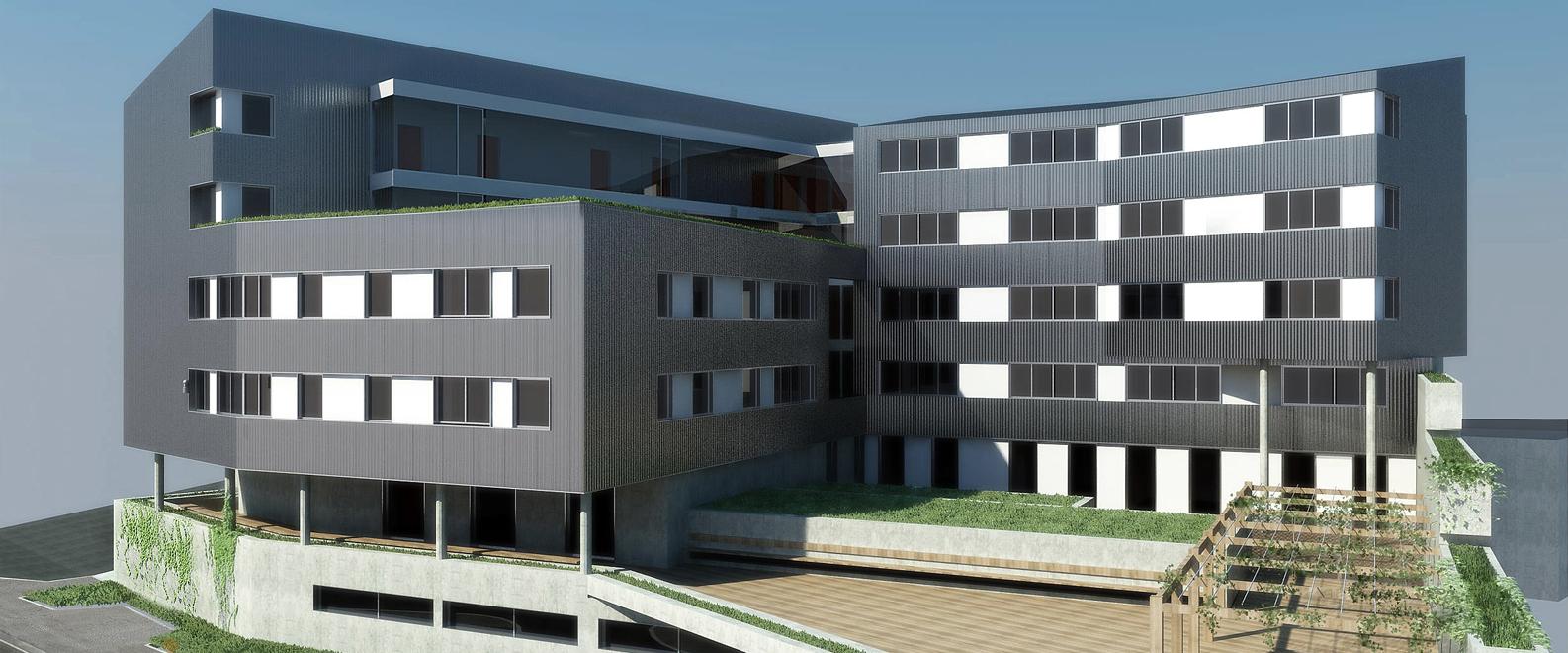 Proyecto de edificacion de viviendas en lekeitio vista - Proyectos de viviendas unifamiliares ...